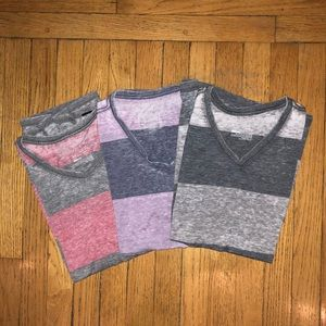 3 On The Byas shirts size small